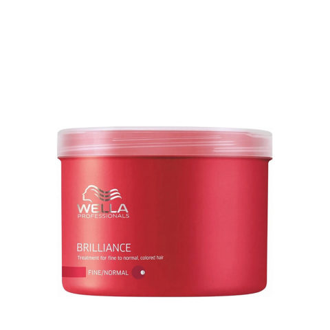 Wella Brilliance Mask 500ml - masque cheveux normaux/fins