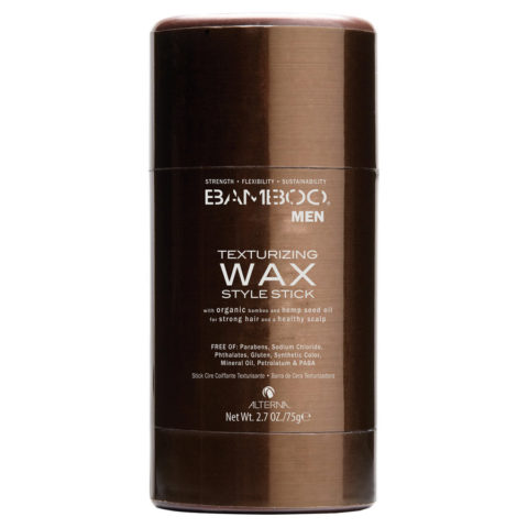 Alterna Bamboo Men Texturizing wax style stick 75gr - cire en stick