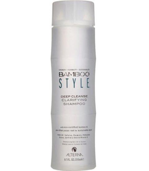 Alterna Bamboo Style Deep cleanse clarifying shampoo 250ml - shampooing