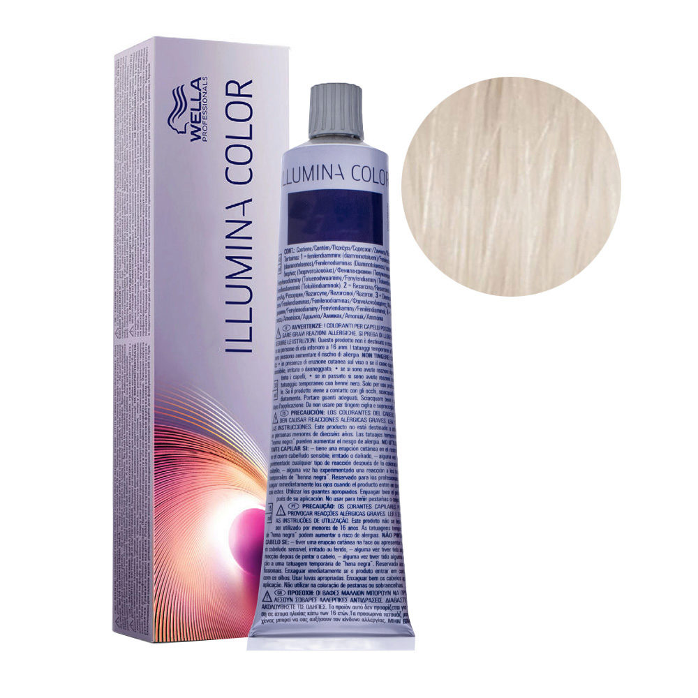 10/69 Blond Très Très Clair Violine Fumé Wella Illumina Color 60ml