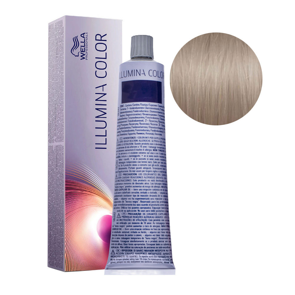 8/69 Blond Clair Violine Fumé Wella Illumina Color 60ml