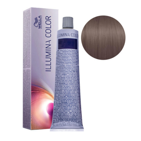 6/16 Blond Foncé Cendré Violine Wella Illumina Color 60ml