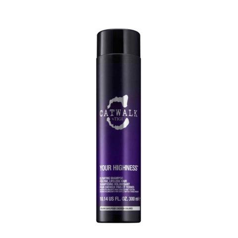 Tigi CatWalk Your Highness Elevating Shampoo 300ml - shampooing volumisant