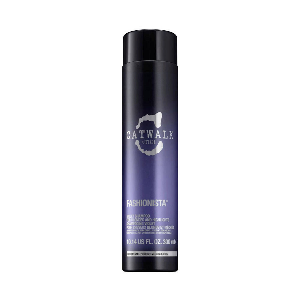 Tigi Catwalk Fashionista Violet shampoo 300ml - shampooing cheveux blonds