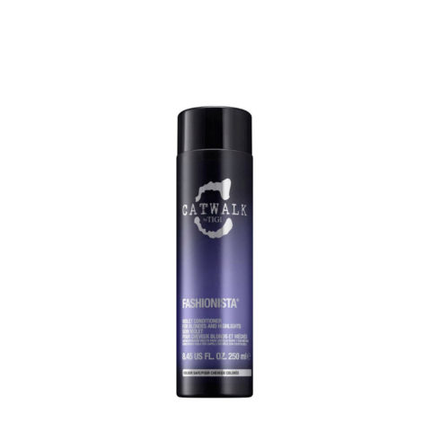 Tigi Catwalk Fashionista Violet conditioner 250ml - après-shampooing cheveux blonds
