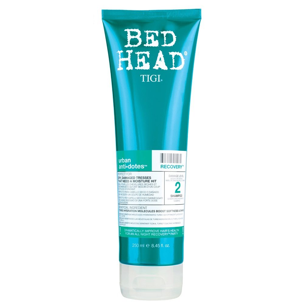 Tigi Urban Antidotes Recovery Shampoo 250ml - shampooing restructurant niveau 2