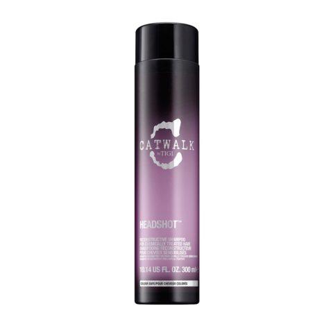 Tigi Catwalk headshot Reconstructive shampoo 300ml - shampooing restructurant