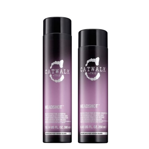 Tigi Catwalk headshot Kit Reconstructive shampoo 300ml   conditioner 250ml