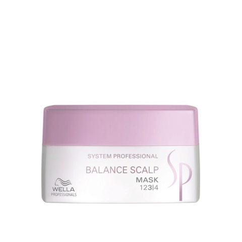 Wella System Professional Balance Scalp Mask 200ml - masque soulageant