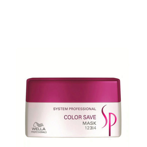 Wella System Professional Color Save Mask 200ml - masque cheveux colorès
