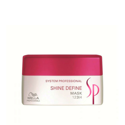 Wella System Professional Shine Define Mask 200ml - masque réflexion parfaite