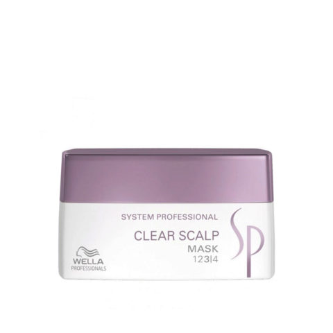 Wella System Professional Clear Scalp Mask 200ml - masque antipelliculaire