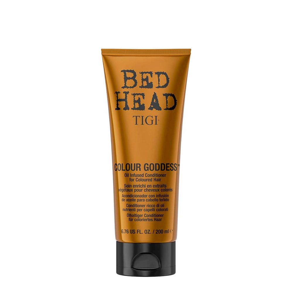 Tigi Bed Head Colour Goddess Oil infused Conditioner 200ml - après-shampooing enrichi en huile