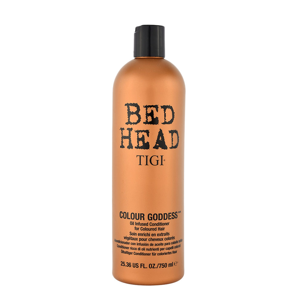 Tigi Bed Head Colour Goddess Oil infused Conditioner 750ml - après-shampooing enrichi en huile