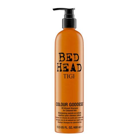 Tigi Bed Head Colour Goddess Oil infused Shampoo 400ml - shampooing enrichi en huile