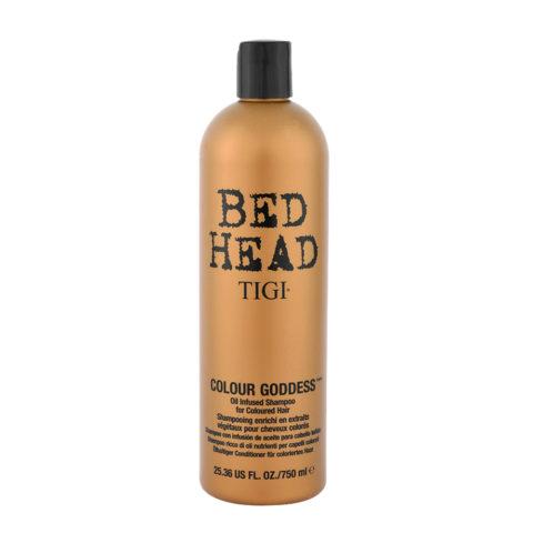 Tigi Bed Head Colour Goddess Oil infused Shampoo 750ml - shampooing enrichi en huile