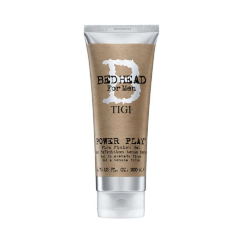 TIGI Bed Head Men Power Play Gel 200ml - gel definition tenue forte