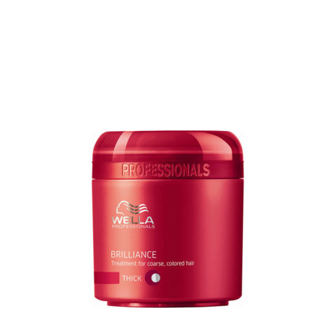 Wella Brilliance Mask 150ml - masque cheveux gros