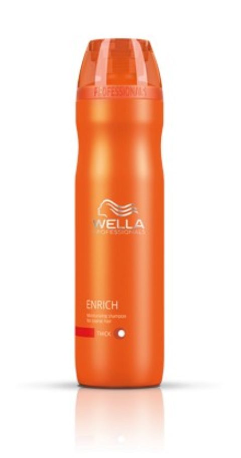Wella Enrich Volumizing Shampoo 250ml - shampooing cheveux fins/normaux