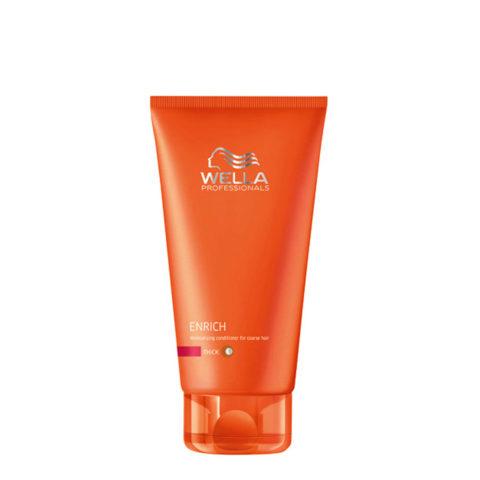 Wella Enrich Moisturizing Conditioner 200ml - après-shampooing cheveux gros