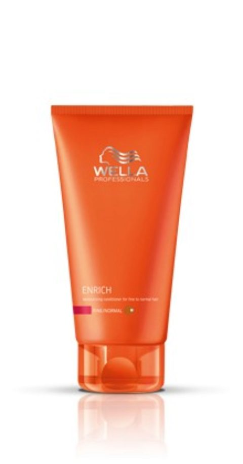 Wella Enrich Moisturizing Conditioner 200ml - après-shampooing fins/normaux