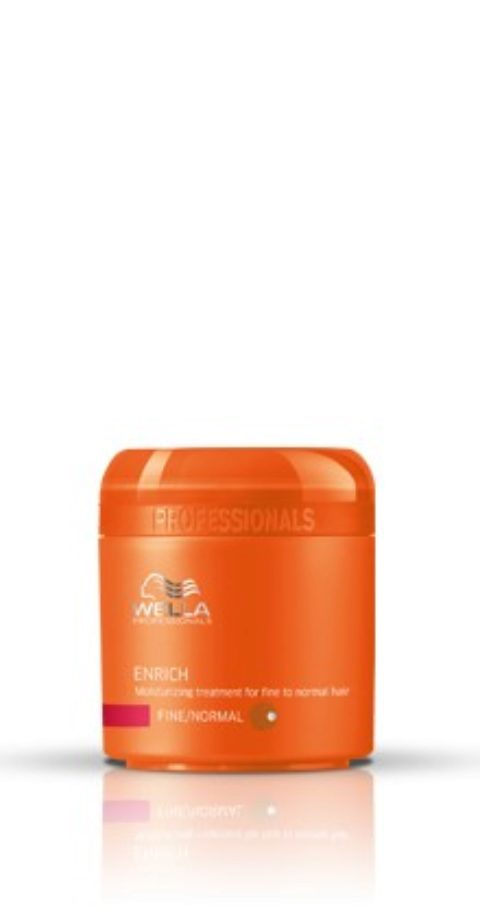 Wella Enrich Moisturizing Mask 150ml - masque hydratant cheveux normaux/fins