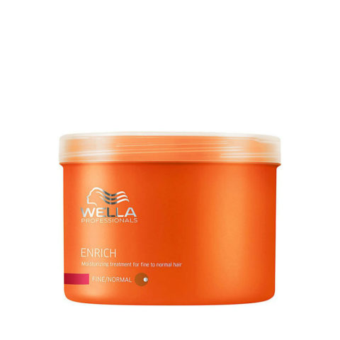 Wella Enrich Moisturizing Mask 500ml - masque hydratant cheveux normaux/fins