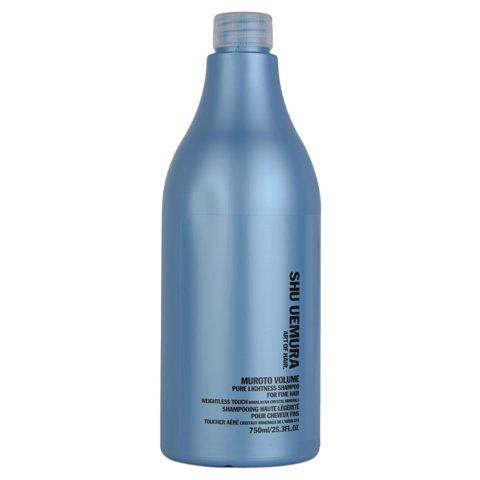 Shu Uemura Muroto Volume Shampoo 750ml - Shampooing volumisant