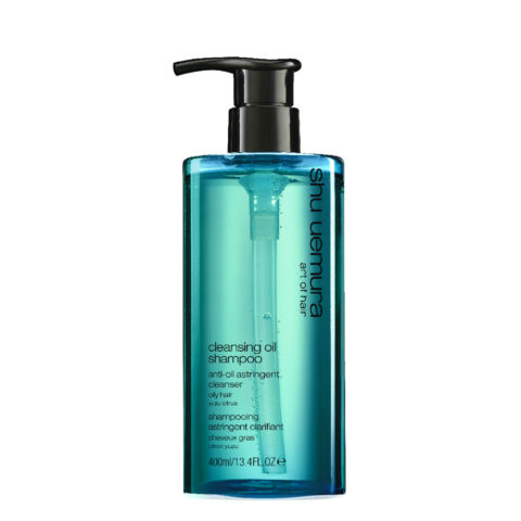 Shu Uemura Cleansing oil Shampoo Anti-oil astringent 400ml - Shampooing pour peau sensible