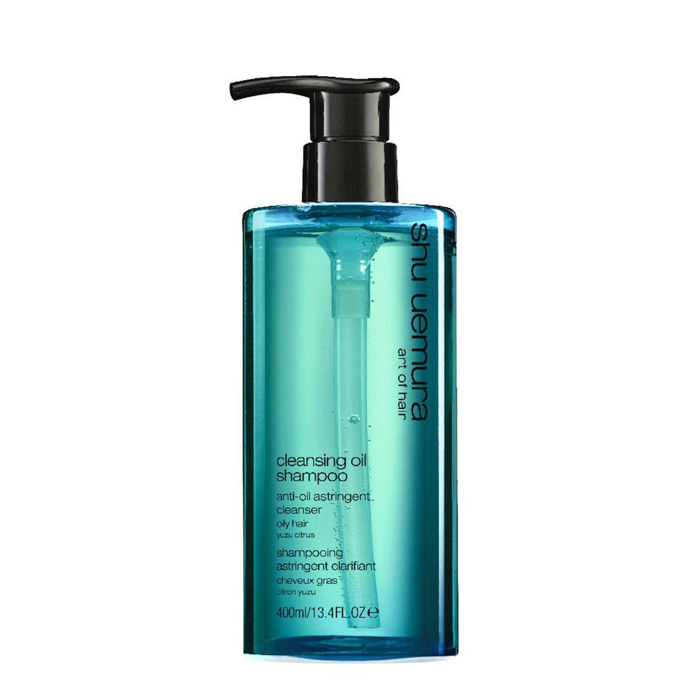 Shu Uemura Cleansing oil Shampoo Anti-oil astringent 400ml - Shampooing pour cheveux gras