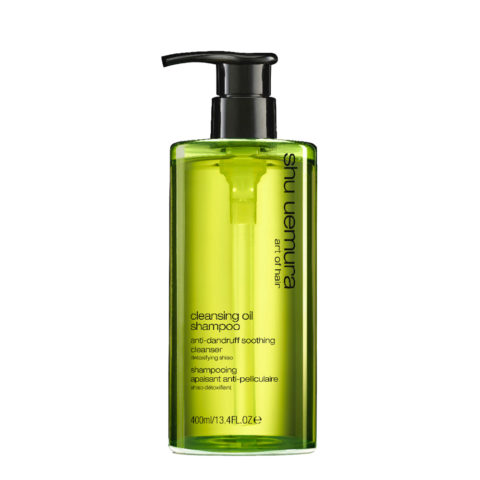Shu Uemura Cleansing oil Shampoo Anti-dandruff 400ml -  Shampooing soulageant antipelliculaire