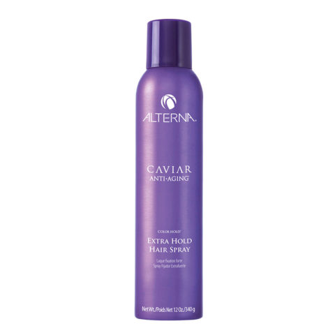 Alterna Caviar Anti aging Styling Extra hold hair spray 340gr - laque facile à brosser