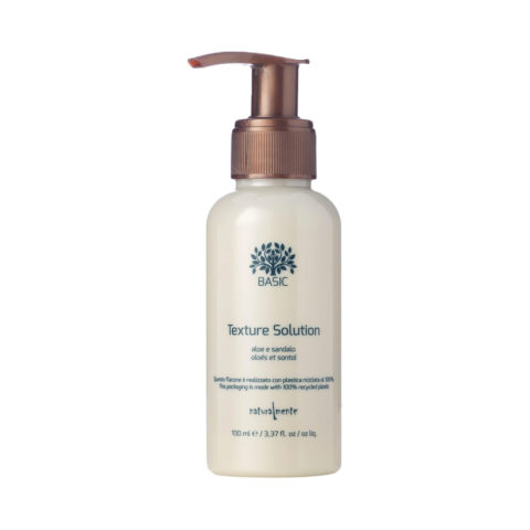 Naturalmente Aloe and Sandalwood Basic Texture solution styling & nourishing 100ml