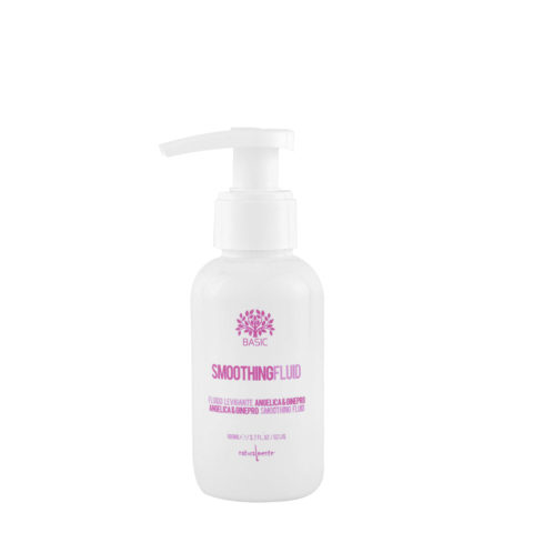 Naturalmente Basic Smoothing solution angelica et genièvre formule lissante végétale 100ml