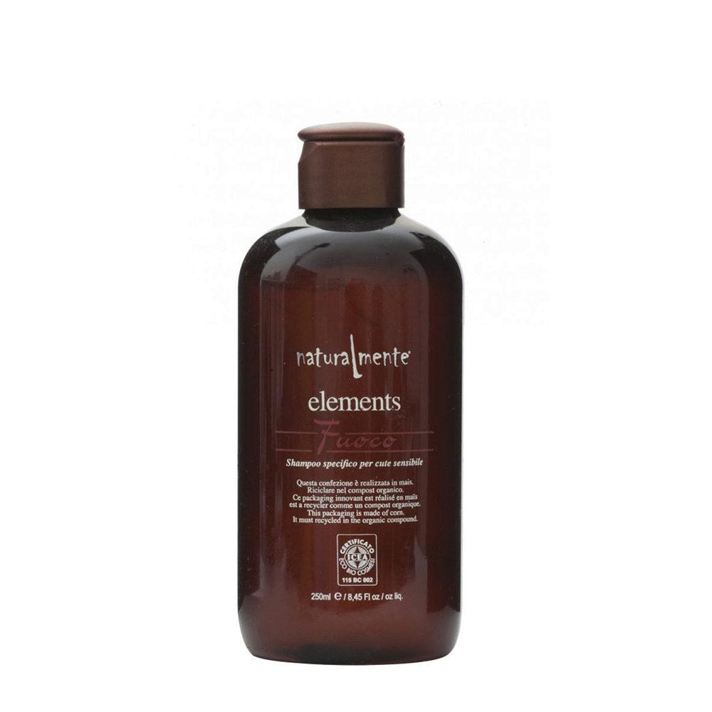 Naturalmente Elements Shampoo fuoco pour peau sensible 250ml
