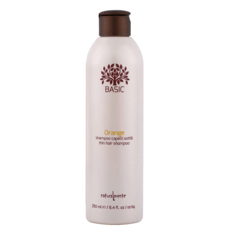 Naturalmente Basic Orange Shampoo Thin hair 250ml