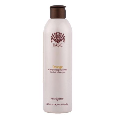 Naturalmente Basic Orange Shampoo Thin hair 250ml