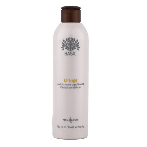 Naturalmente Basic Orange Thin hair Conditioner 250ml