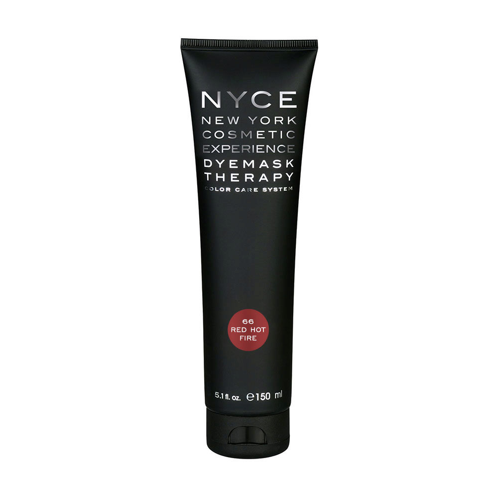 Nyce Dyemask .66 Red hot fire 150ml - Masque Raviveur De Reflets