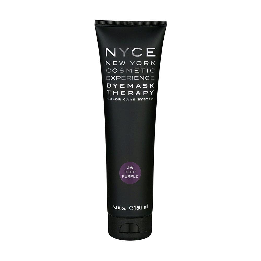 Nyce Dyemask .26 Deep purple 150ml - Masque Raviveur De Reflets