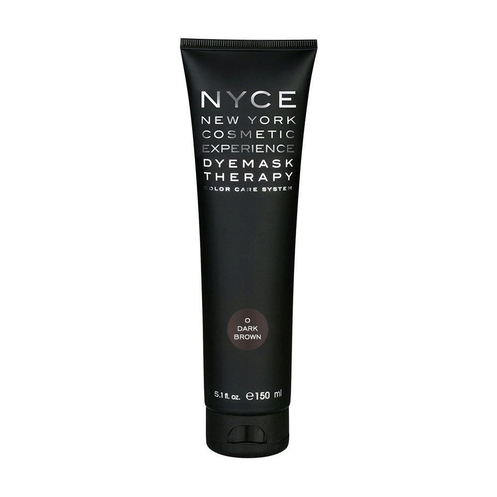 Nyce Dyemask .0 Marron foncé 150ml - Masque Raviveur De Reflets