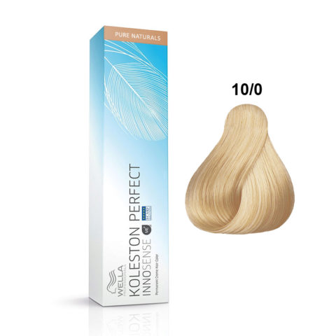 10/0 Platinum blonde Wella Koleston Perfect innosense Pure naturals