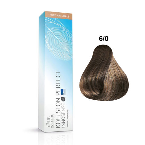 6/0 Naturels purs blond foncé Wella Koleston Perfect innosense Pure naturals 60ml