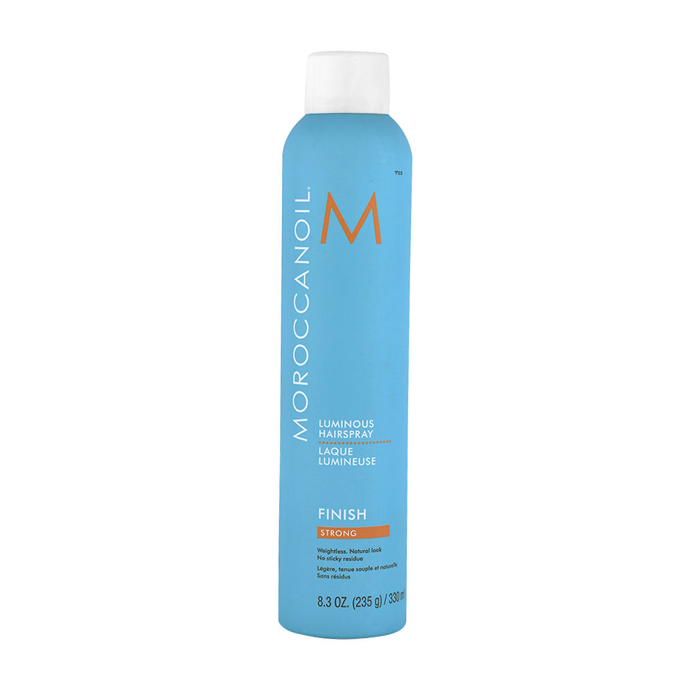 Moroccanoil Luminous Hairspray Finish Strong 330ml - fixation forte