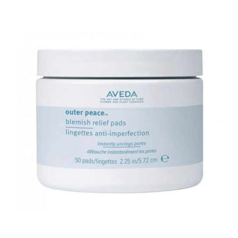 Aveda Skincare Outer Peace Relief Pads 50disc
