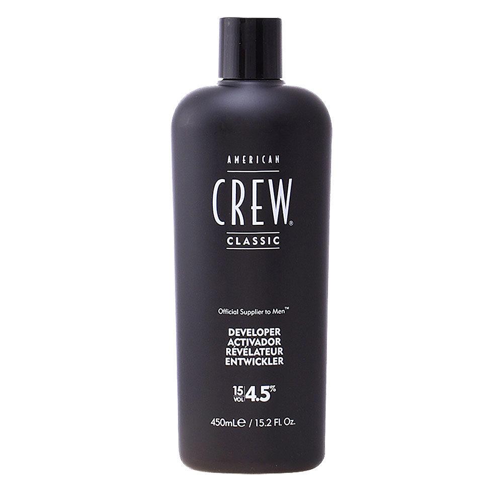 American Crew Classic Precision Blend Developer 15vol. 4,5%, 450ml - oxygène