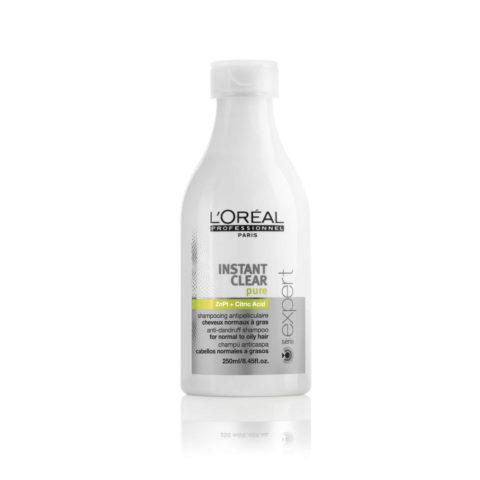 L'Oreal Instant Clear Pure Oily Dandruff Shampoo 250ml