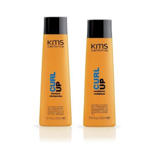 Kms california Kit1 Curlup Shampoo 300ml Conditioner 250ml