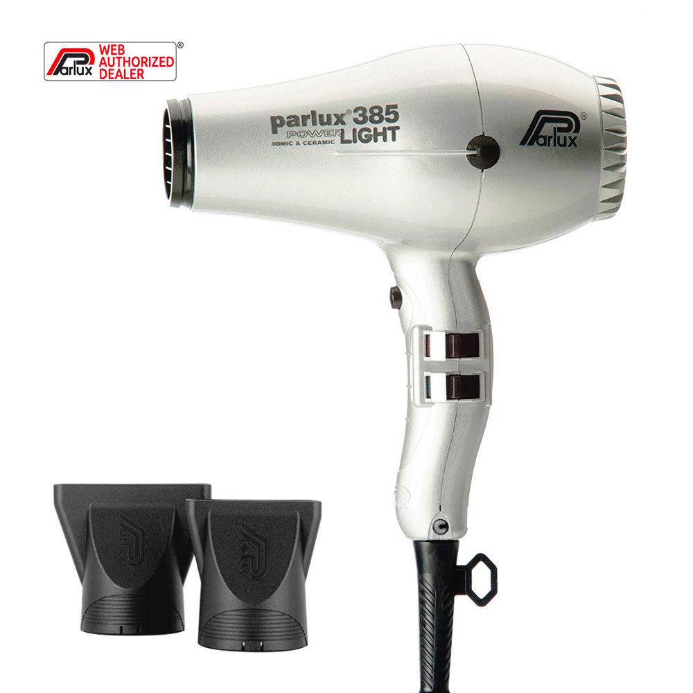 Parlux 385 Powerlight Ionic & Ceramic Argent
