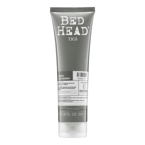 Tigi Bed Head Urban Antidotes 0 Reboot Shampoo 250ml - cuir chevelu sensible